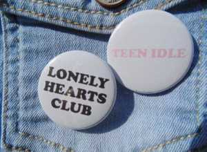 Lonely Single Badge