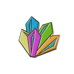 Custom Glitter Soft Enamel Lapel Pins