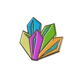 Custom Glitter Soft Enamel Lapel Pins