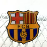 Barcelona team enamel pins