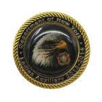 Sky Overlord Eagle enamel pins