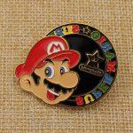 Mario avatar enamel pins